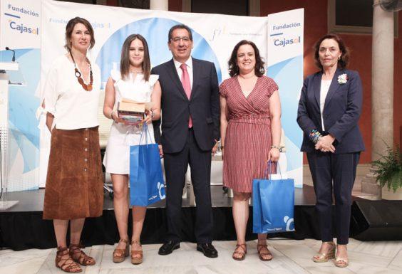 Ana Zamora, del IES Sierra Sur de Valdepeñas, vencedora por la provincia de Jaén. © Luis Serrano