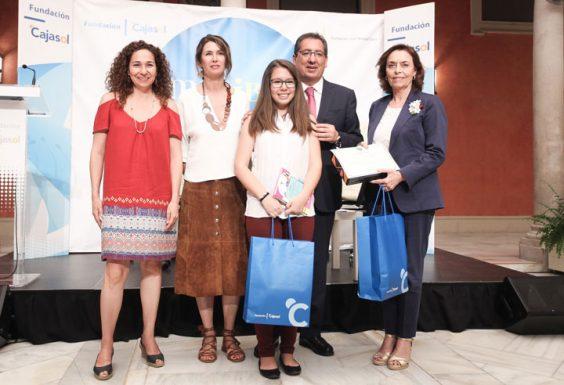 Beatriz Gil, del IES Las Encinas de Valencina, ganadora por la provincia de Sevilla. © Luis Serrano