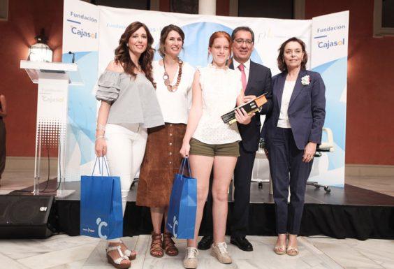 Elena Cost, del IES Cárbula de Almodóvar del Río, ganadora por la provincia de Córdoba. © Luis Serrano