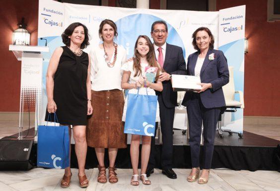 Miriam Vázquez, del IES Zaframagón de Olvera, ganadora por la provincia de Cádiz. © Luis Serrano